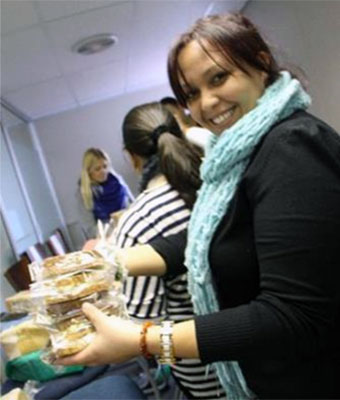 IRI South Africa providing sandwiches for the less fortunate