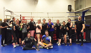 IRI Netherlands - Kickbox circuit with colleagues