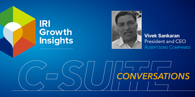 C-Suite Conversation with Vivek Sankaran, President and CEO, Albertsons Companies